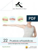 Libro Electrónico. 22 Pruebas Ortopedicas. 2ª Edición. ES. Interactivo.2015.