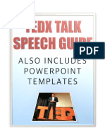 TEDx Talk Speech Guide