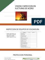 Supervision e Inpeccion en Estructuras de Acero