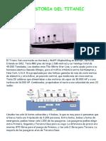 La Historia Del Titanic