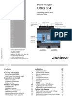 Janitza Manual UMG604 En