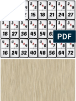 Domino de Sumas y Restas