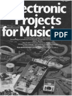 Electronic Projects for Musicians by Craig Anderton