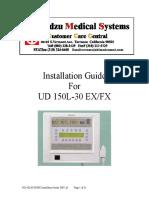 Shimadzu UD-150L X-Ray - Installation Guide
