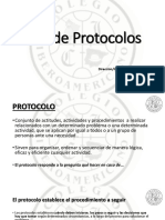 Uso de Protocolos