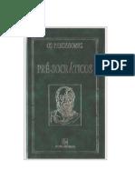 (Adoramos.Ler) - Os Pré-socraticos - Coleção Os Pensadores(doc)(rev)