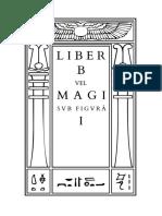 Crowley - Liber B vel Magi sub figurâ I