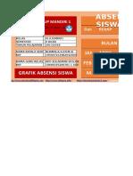 Aplikasi Absensi Siswa Plus Grafik KELAS 4