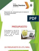 4. presentacion presupuesto