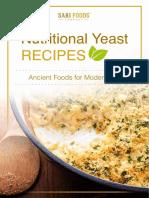 Nutritional Yeast ECookbook