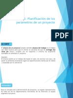 1.5. Planificación de Los Parámetros de Un Proyecto OK