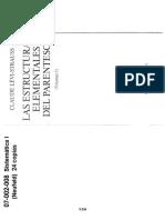 07002008 LÉVI-STRAUSS - Las estructuras elementales  (Caps 3 4 5).pdf