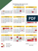 KALENDER PENDIDIKAN TA. 2017-2018 PROVINSI GORONTALO