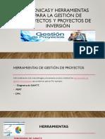 Técnicas y Herramientas Para La Gestión de Proyectos