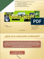 Educacion Ambiental en Venezuela