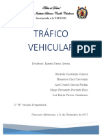 Tráfico Vehicular Patzcuaro Mich