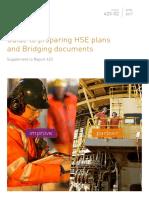 423-02 Guide to Preparing HSE Plans & Bridging Document