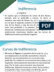 Curvas de Indiferencia e Isocuantas.