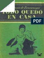 Zunzunegui, Juan Antonio de - Todo Quedo en Casa [33481] (r1.1)