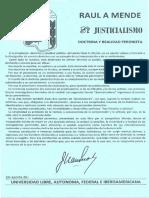 Mende, Raúl - El Justicialismo.pdf