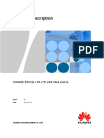 Huawei e3372 Datasheet Specifications