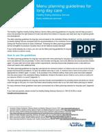 ECS Menu Planning Guidelines LDC