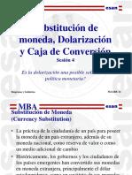 Ses4 Dolarizacion y Caja de Conversion