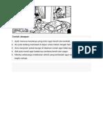 Contoh Jawapan Bahasa Malaysia tahun 3