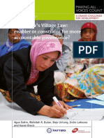 Village Law Indonesia Final PATTIRO IDS