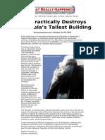 Comparison Fires- Fire Practically Destroys Venezuela's Tallest Building whatreallyhappened_com.pdf