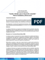 Lineamientos de Seminario 2018 Guatemala