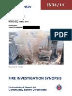 Fire Investigation Report Sample