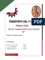 Congestionamiento Y  Capacidad vial
