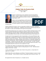 Burton Malkiel Talks the Random Walk