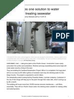Desalination Drought
