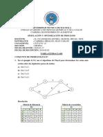 Algoritmo de Floyd. Ejercicios