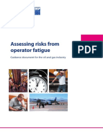 Assessing Risk From Operator Fatigue