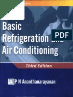 P.N. Anathnarayanan - Refrigeration