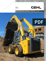 Gehl Skid Loaders Full Product Line (06 2017)