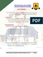 I Torneo Regional Juvenil Juventud Lambayecana 2018