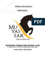 Proposal Kerjasama Berkuda