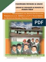 Pip Educacion 56433 Techo Obrero