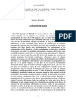 Blanchot, M., La razón de Sade.