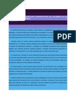 Competitividad y Ventajas Comparativas de Colombia en El Mercado Internacional