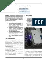 PROYECTO Electrónica II