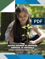 49. Politica de Educacion Ambiental
