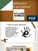 Resumen capítulo 3 ética para Amador