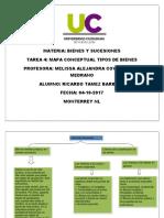Mapa conceptual bienes y sucesiones