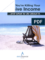 5 Ways Youre Killing Your Passive Income