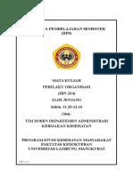 RPS Perilaku Organisasi Genap 20162017 (AJ)